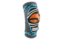 iXS Slope Evo DCLAW Knee Guard blue/orange